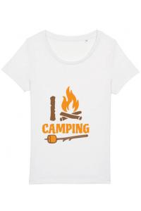 Baby body I love Camping Alb