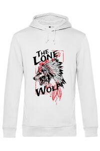 Mousepad personalizat The lone wolf Alb