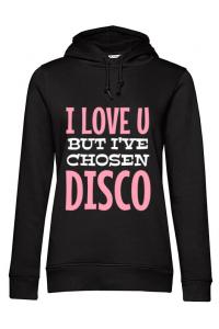Tricou ADLER copil I've chosen disco Negru