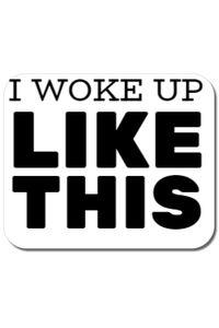 Tricou ADLER copil I woke up like this Alb