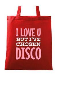 Tricou ADLER copil I've chosen disco Rosu