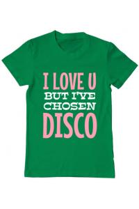 Tricou ADLER copil I've chosen disco Verde mediu