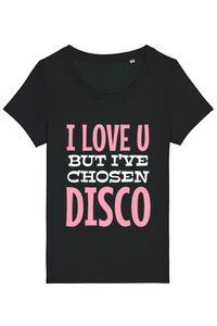 Masca personalizata reutilizabila I've chosen disco Negru