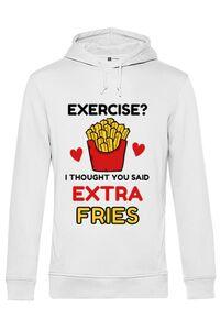 Tricou ADLER barbat Exercise extra fries Alb