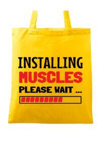 Tricou ADLER dama Installing Muscles Galben