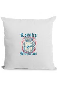 Tricou ADLER dama Royalty bloodline Alb