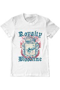 Cana personalizata Royalty bloodline Alb
