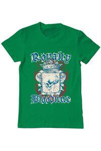 Tricou ADLER copil Royalty bloodline Verde mediu