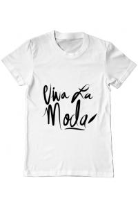 Hoodie barbat cu gluga Viva la moda Alb