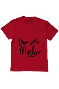 Sacosa din panza Viva la moda Rosu
