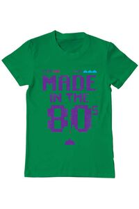 Tricou ADLER dama Made in the 80s Verde mediu