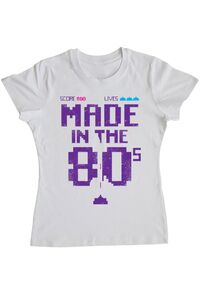 Tricou STANLEY STELLA dama Made in the 80s Alb