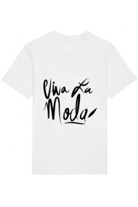 Tricou ADLER copil Viva la moda Alb