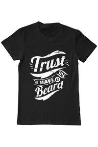 Tricou STANLEY STELLA dama Trust me, I have a beard Negru
