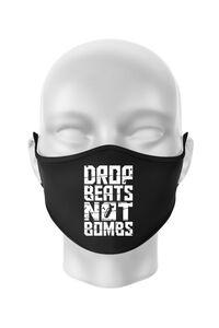 Tricou ADLER copil Drop beats, not bombs Negru