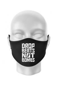 Tricou ADLER dama Drop beats, not bombs Negru
