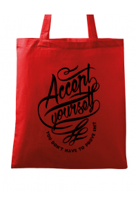 Tricou ADLER copil Accept Yourself Rosu