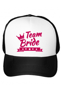 Mousepad personalizat Team Bride Alb
