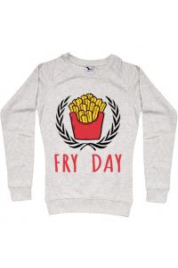 Tricou ADLER dama Fry Day Albastru azuriu