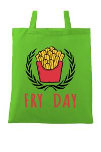Cana personalizata Fry Day Alb