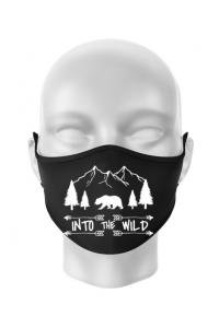 Hoodie barbat cu gluga Into the wild Negru