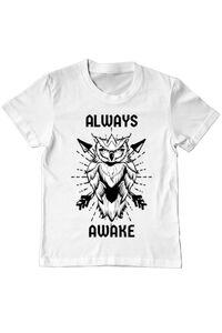 Tricou ADLER barbat Always awake Alb