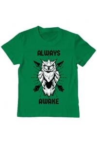 Tricou ADLER dama Always awake Verde mediu
