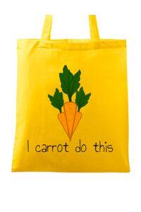 Tricou ADLER dama I carrot do this Galben