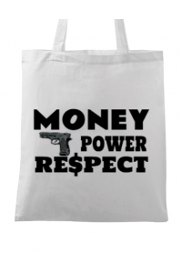 Sapca personalizata Money, power,respect Alb