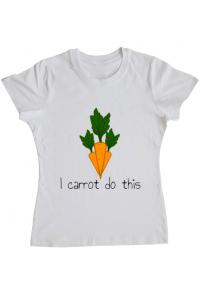 Perna personalizata I carrot do this Alb
