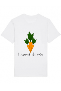 Cana personalizata I carrot do this Alb