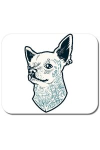 Tricou ADLER copil Tattooed dog Alb