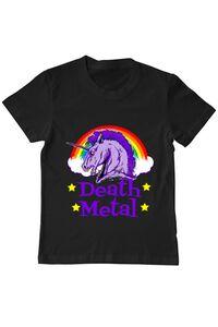 Hoodie barbat cu gluga Death Metal Negru