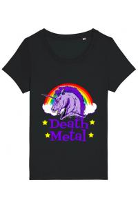 Tricou ADLER dama Death Metal Negru