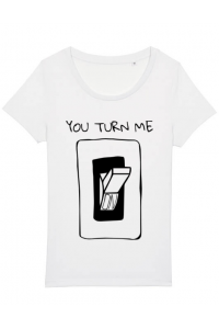 Tricou STANLEY STELLA barbat You turn me on Alb