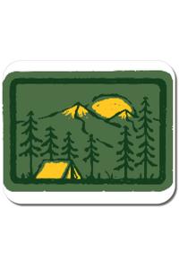 Tricou ADLER copil Camping 2 Alb