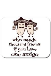 Sapca personalizata One amigo Alb