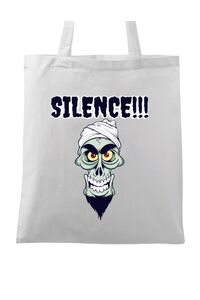Mousepad personalizat Silence Alb