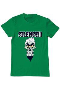 Tricou ADLER copil Silence Verde mediu