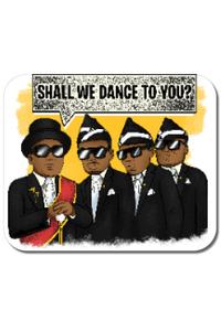 Tricou ADLER copil Dance meme Alb