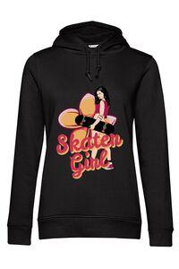 Tricou ADLER dama Skater Girl Negru
