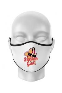 Mousepad personalizat Skater Girl Alb