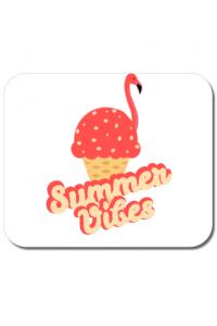 Masca personalizata reutilizabila Summer Vibes Alb