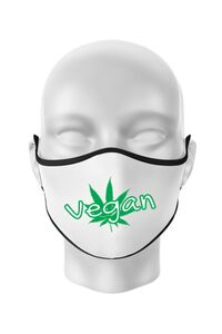 Sacosa din panza Vegan Alb