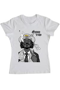 Tricou ADLER copil Snoop Dog Alb