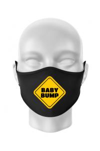 Tricou ADLER copil Baby bump Negru