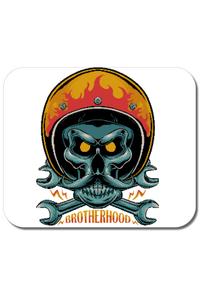 Tricou ADLER copil Brotherhood motorcycle Alb