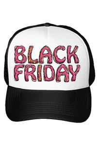 Tricou ADLER copil Black friday donut theme Alb