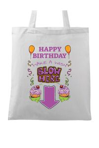 Cana personalizata Make a wish Alb