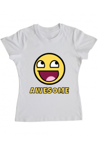 Sapca personalizata Awesome Alb